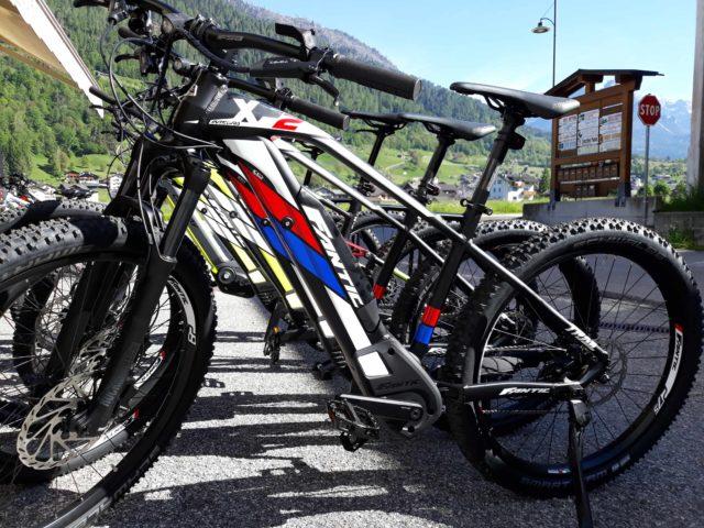 Noleggio e-bike Cicli Bettega Primiero