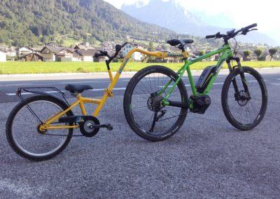 noleggio bici con camellino cicli Bettega Primiero