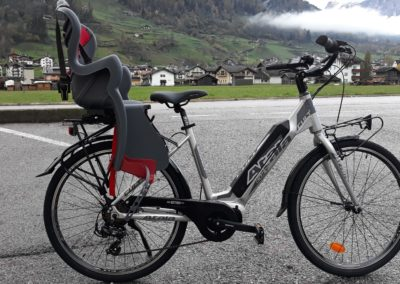 city bike con seggiolino noleggio