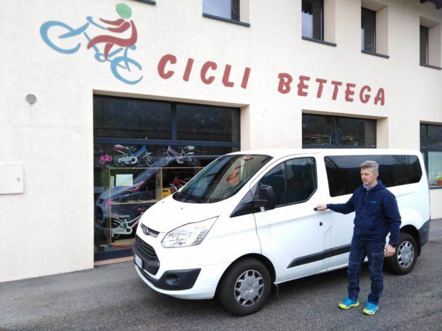 Servizio consegne a domicilio Cicli Bettega Mezzano