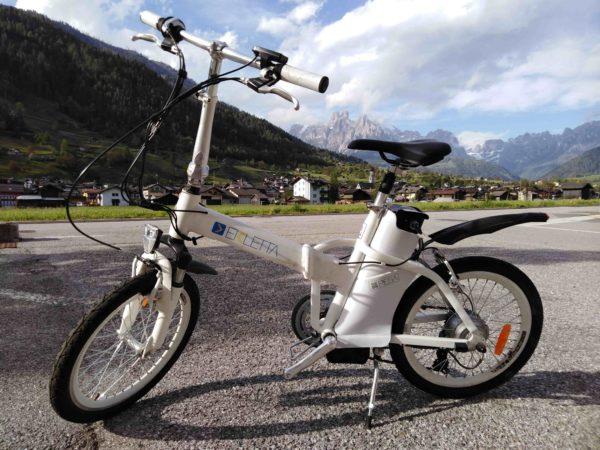 bicicletta pieghevole Ekletta Cicli Bettega Mezzano