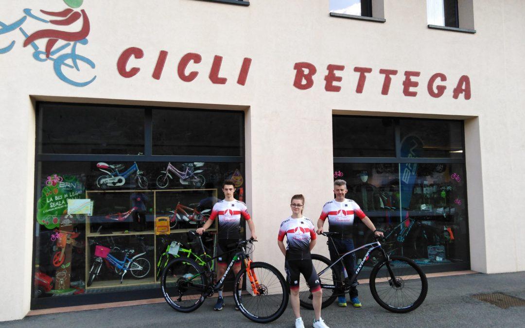 sezione ciclismo us primiero sponsor cicli Bettega Mezzano