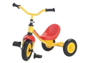 Tricicli, carriole, primipassi