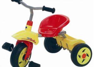 Triciclo rolly Toys turbo Trike rosso Cicli Bettega Mezzano