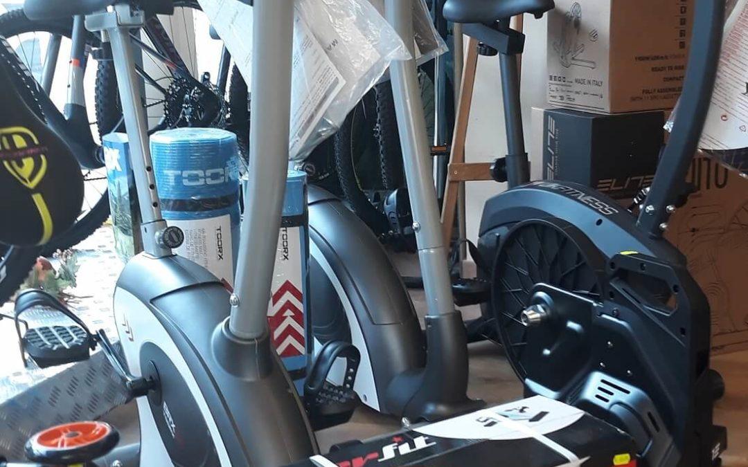 cyclette fitness riabilitazione Cicli Bettega Mezzano
